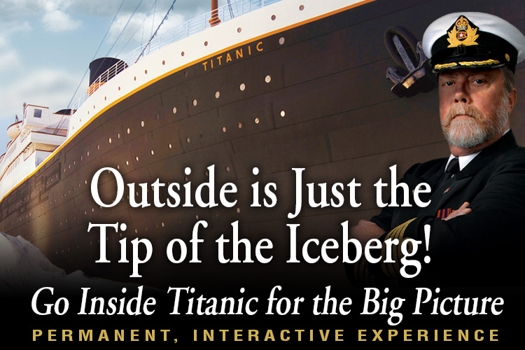 About Titanic Museum Attraction in Branson, MO