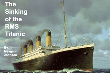 The sinking of the Titanic Powerpoint