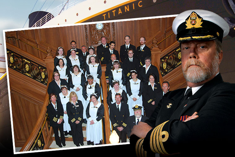 Meet our Titanic Branson crew