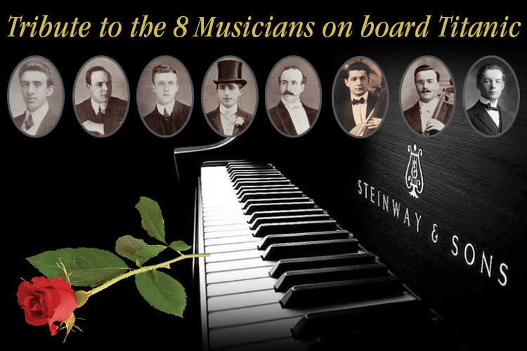 Titanic Branson pays tribute to the Musicians