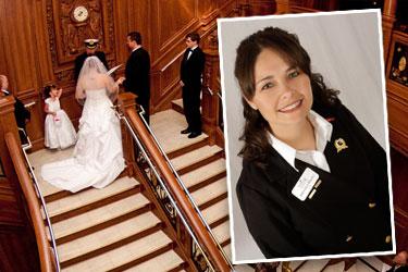 Titanic Branson wedding coordinator