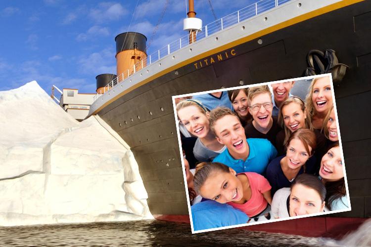 Church Youth Groups at Titanic Branson