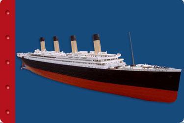 Titanic Education Branson Guide - Math - Titanic model