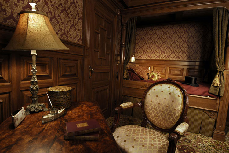 First Class Suite at Titanic Branson