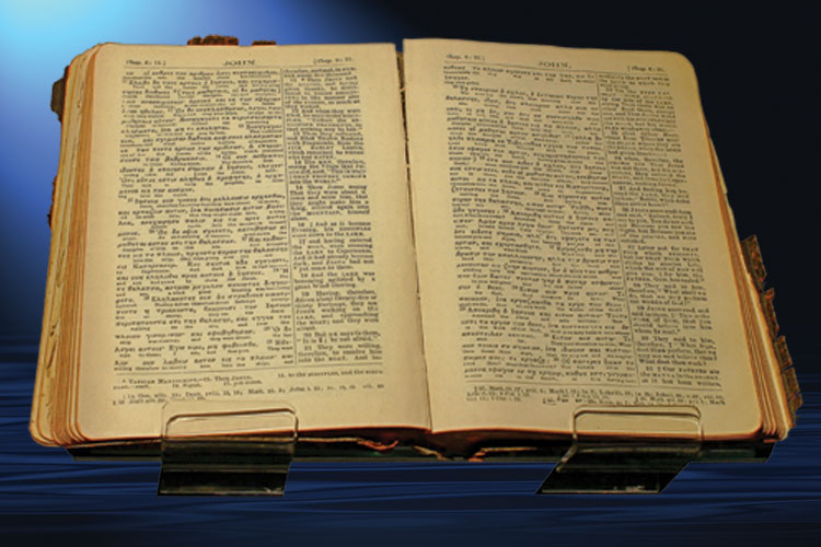 See the ONLY Bible saved on the RMS Titanic! at Titanic Branson
