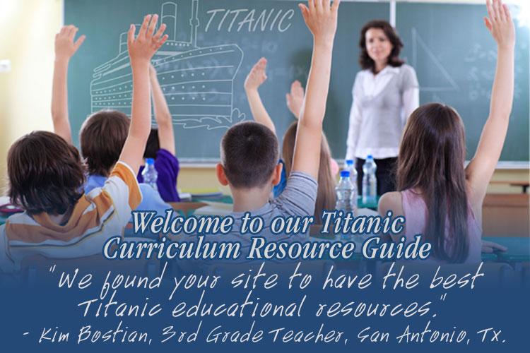 Titanic Branson Education Guide