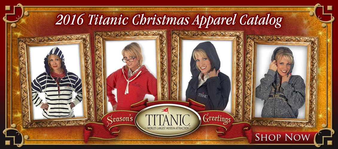 Titanic Apparel Catalog