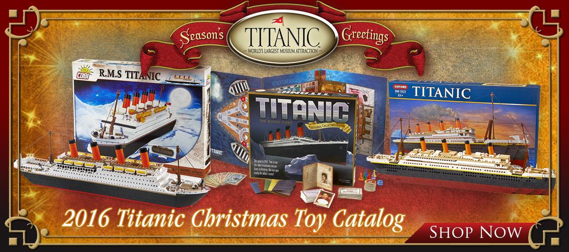 Titanic Toys Catalog