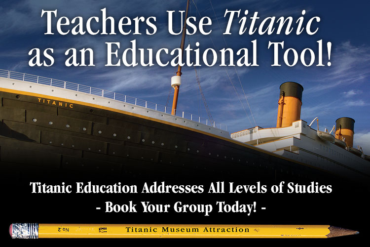 Titanic Branson Homeschool Rates