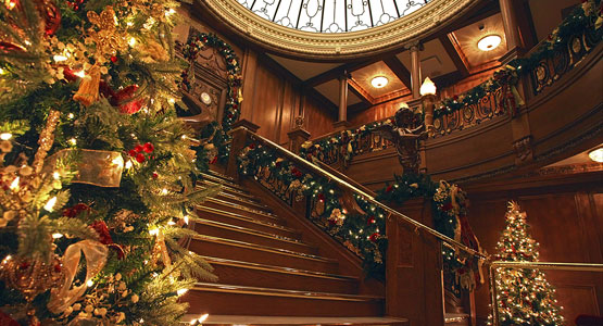 Titanic Christmas and Winter Celebration. Now Through December 31st, 2017.