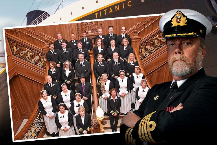 Meet our Titanic Branson crew