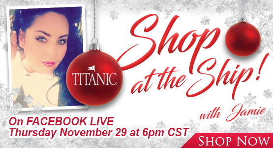 Shop the ship with Jamie every Thursday at 6pm Central on Facebook live.<br />