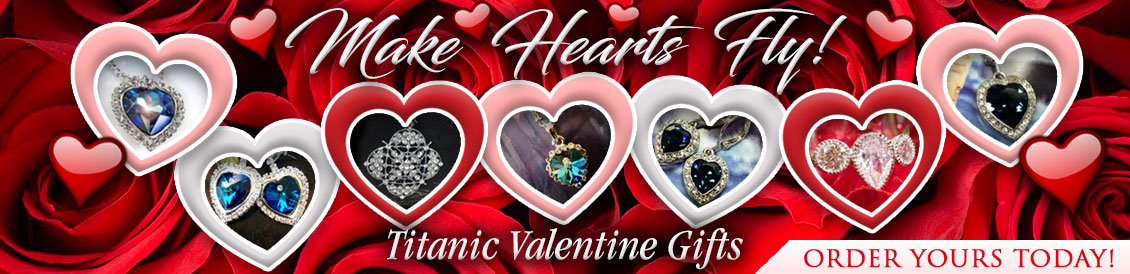 Make hearts fly! Titanic Valentine Gifts.