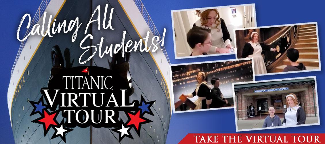 Titanic Museum Attraction Virtual Tour