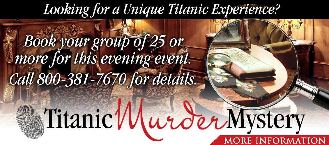 Titanic Murder Mystery