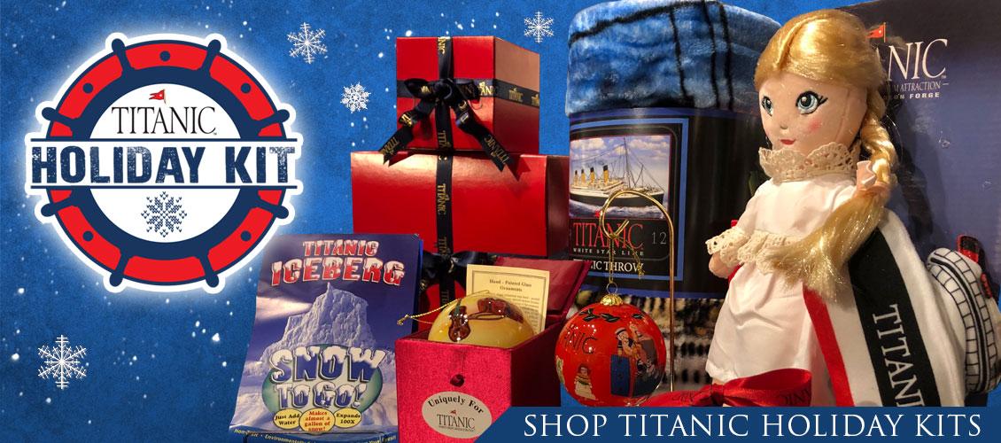 Shop Titanic Holiday Kits