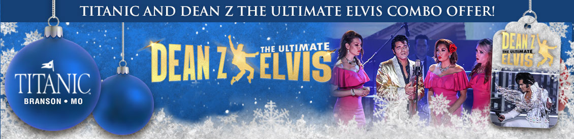 Titanic Branson and Dean Z - The Ultimate Elvis combo package.
