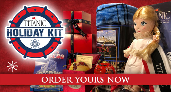 Calling all Kids! Order your Titanic Museum Activity Kit.