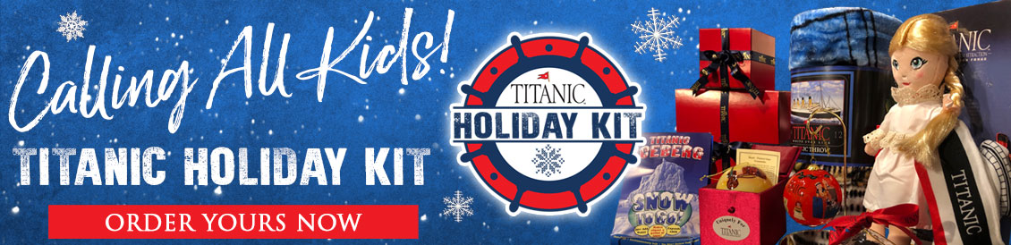 Titanic Holiday Kits a wonderful gift for any TitaniAc! All kits are different, and contain multiple Titanic items that will no doubt keep your TitaniAc busy for hours discovering their unique Titanic Activity kit.