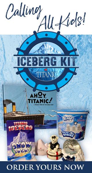 Calling all Kids! Titanic Iceberg Kits.