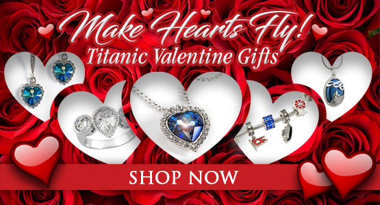 Make hearts fly. Titanic Valentine's Gifts. Shop now.