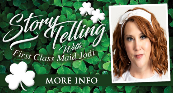 Titanic Thursdays! Titanic Storytelling with First Class Maid Jodi. 11am EST on Facebook Live.