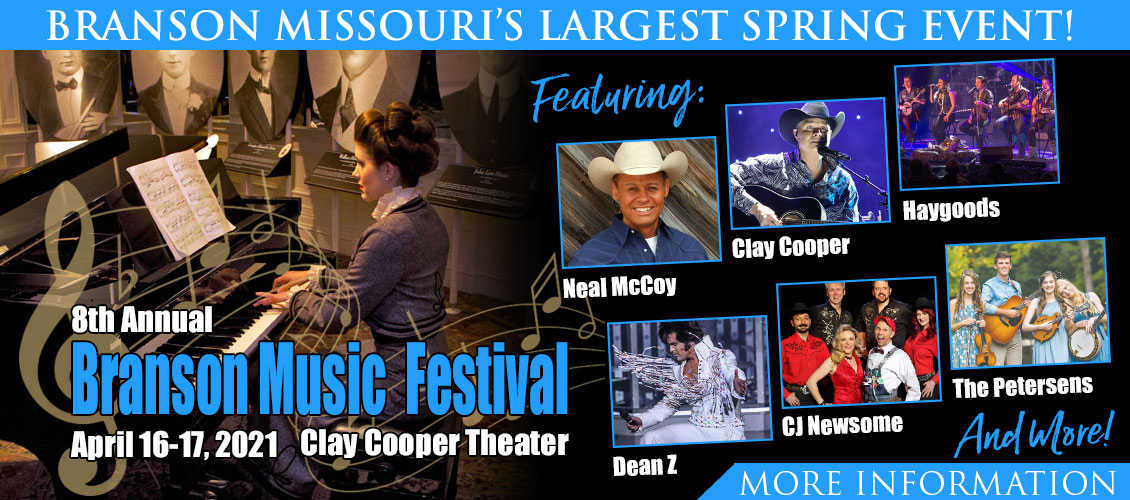 8th Annual Branson Music Festival.