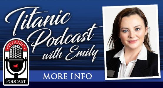 Titanic Thursdays! Titanic Podcast with Emily. 6pm CST on Titanic's Soundcloud.