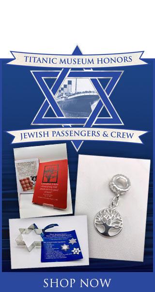 Titanic Jewish Tribute. Shop Items.
