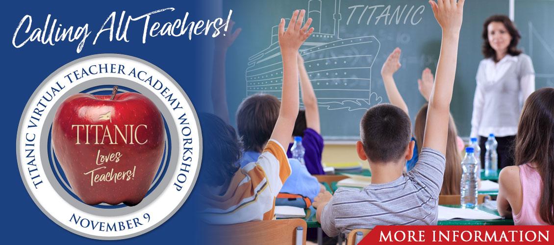 Titanic Virtual Teacher Academy Workshop